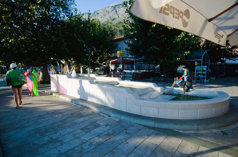 Fountain and Square of father Gabro Cvitanović